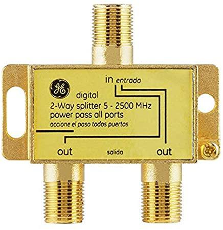 Séparateur de câble coaxial à 2 voies